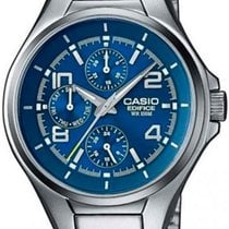 Casio Çelik 40.5mm Quartz EF-316D-2A yeni