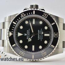 Rolex Submariner (No Date) gebraucht 40mm Schwarz Stahl