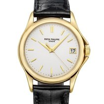 Patek Philippe Calatrava Yellow gold 37mm White No numerals United States of America, New York, Los Angeles