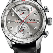Oris Audi Sport new Automatic Chronograph Watch with original box and original papers 01 774 7661 7481-Set Limited Edition