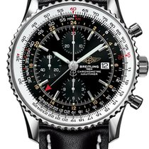 Breitling A2432212.B726.441X Steel Navitimer World 46mm pre-owned