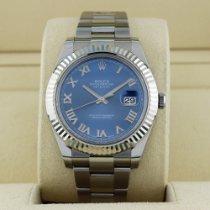 Rolex Datejust II Steel 41mm Blue No numerals United States of America, New York, New York