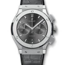 Hublot Classic Fusion Racing Grey 521.NX.7071.LR Very good Titanium 45mm Automatic