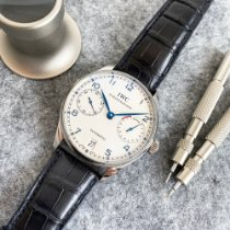IWC new Automatic Display Back Small Seconds Power Reserve Display 42mm Steel Sapphire crystal