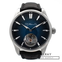 H.Moser & Cie. Steel 42.8mm Automatic 3804-1201 new