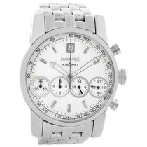 Eberhard & Co. Chrono 4 Stainless Steel Chronograph Mens Watch...