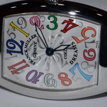 Franck Muller Color Dreams Steel 25mm Silver Arabic numerals United States of America, New York, Greenvale