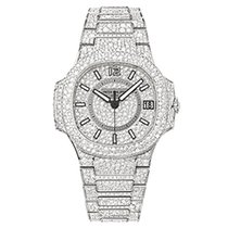 Patek Philippe 7021/1G-001 White Gold Ladies Nautilus 33.6mm...