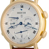 Breguet Yellow gold Automatic Silver Roman numerals 40mm pre-owned Classique