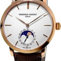 Frederique Constant Manufacture Slimline Moonphase Rose gold White United States of America, New York, Brooklyn