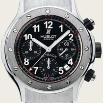 Hublot Classic Super B Black Flyback Rubber Chronograph	 Fe