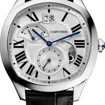 Cartier Drive de Cartier Acero 41mm Plata Romanos