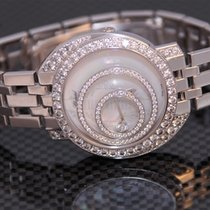 Chopard Happy Spirit Or blanc 39mm Arabes