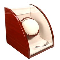 Axis Watch Winders Axis Curved Cherry Finish Wooden Single...