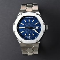 Dietrich Steel 43,8mm Automatic TC-1 SS – BLUE new