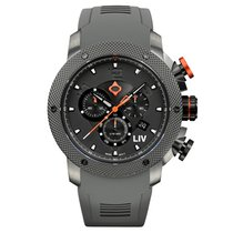 Liv Watches LIV GX1 Swiss Chronograph Gray IP & Gray Numbers...