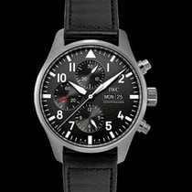 IWC Pilot Chronograph Steel 43.00mm Black United States of America, California, San Mateo
