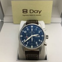 萬國 8DAYwatch-New IW377714 PILOTS STAINLESS STEEL BLUE