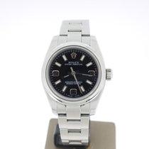 Rolex Oyster Perpetual 26 Steel 26mm Black Arabic numerals