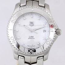TAG Heuer Link Quartz Steel 39mm Mother of pearl No numerals