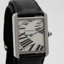 Cartier 3170 Stahl Tank Solo 24mm