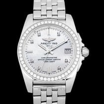 Breitling Galactic 36 Steel 36mm Mother of pearl United States of America, California, San Mateo