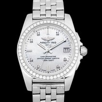 Breitling Galactic 36 Steel Mother of pearl United States of America, California, San Mateo