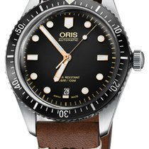 Oris Steel 40mm Automatic Divers Sixty Five new