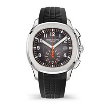 Patek Philippe 5968A-001 Stahl 2018 Aquanaut 42.2mm neu