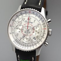 Breitling Montbrillant 01 pre-owned 40mm Chronograph Leather