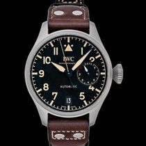 IWC Big Pilot Titanium 46.2mm Black United States of America, California, San Mateo