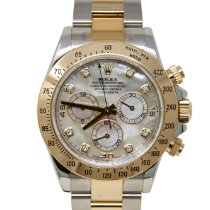 Rolex Daytona Gold/Steel 40mm Mother of pearl No numerals United States of America, California, Los Angeles