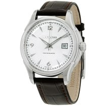 Hamilton Jazzmaster Viewmatic Steel 40mm Silver Arabic numerals