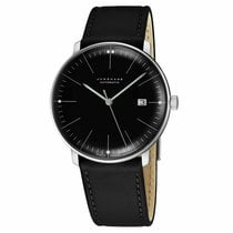 Junghans max bill Automatic Steel 38mm Black United States of America, New Jersey, Cherry Hill