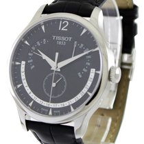 Tissot Tradition Staal 42mm Zwart