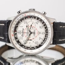Breitling Montbrillant Steel 42mm White Arabic numerals United Kingdom, Essex