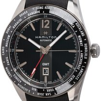 Hamilton Steel Automatic Black 46mm new Broadway