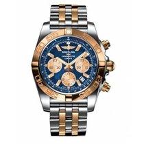 Breitling Chronomat 44 Gold/Stahl 44mm Blau