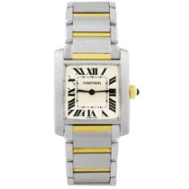 Cartier 2301 Steel Tank Française 24mm pre-owned