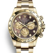 Rolex Daytona Yellow gold 40mm Mother of pearl No numerals