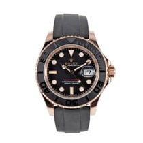 Rolex Yacht-Master 40 Yellow gold 41mm Black
