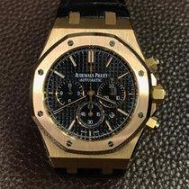 Audemars Piguet Royal Oak Chronograph Pозовое золото 41mm Чёрный Без цифр