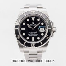 Rolex 116610LN Steel 2014 Submariner Date 40mm pre-owned United Kingdom, Guildford,Surrey