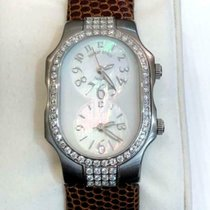 Philip Stein pre-owned Quartz 1.1mm Mother of pearl 3 ATM