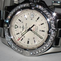 Breitling Colt Automatic Steel 42mm Silver No numerals United States of America, New York, New York