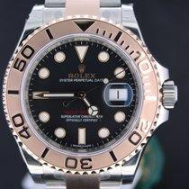 Ρολεξ (Rolex) Yacht-Master Gold/Steel 40MM Black Dial Full Set...