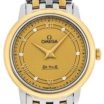 Omega Quartz Champagne 27.4mm new De Ville Prestige