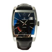 Eterna Madison Eight-Days 7720.41.43.1228 Handaufzug Stahl neu...