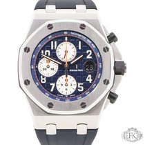Audemars Piguet Oak Offshore Chronograph | AP Navy Blue Rubber...
