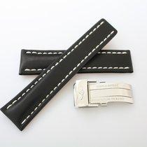 Breitling Kalb-Lederband 20-18 Original mit Faltschließe